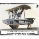 Beaching Dolly for Hansa W.20 Flying Boat - 1/72 resin kit