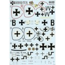 Albatros D.V - 1/72 decal